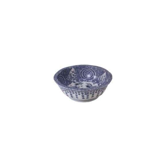 盛鉢古染付8.0盛鉢和食器美濃焼業務用食器