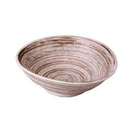 中鉢 錆うず巻 たわみ6.0ボール 和食器 美濃焼 業務用食器