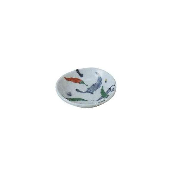 豆皿楕円とうがらし小皿和食器業務用食器