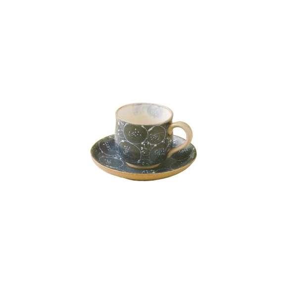 コーヒーカップ&ソーサー珈琲碗皿一珍青花【箱入り】ギフト内祝い引出物結婚祝い瀬戸焼