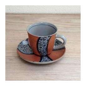 コーヒーカップソーサー 祥瑞桜 美濃焼 カフェ 食器 業務用