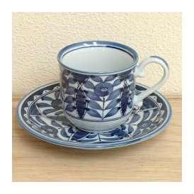 コーヒーカップソーサー オリエント 美濃焼 カフェ 食器 業務用