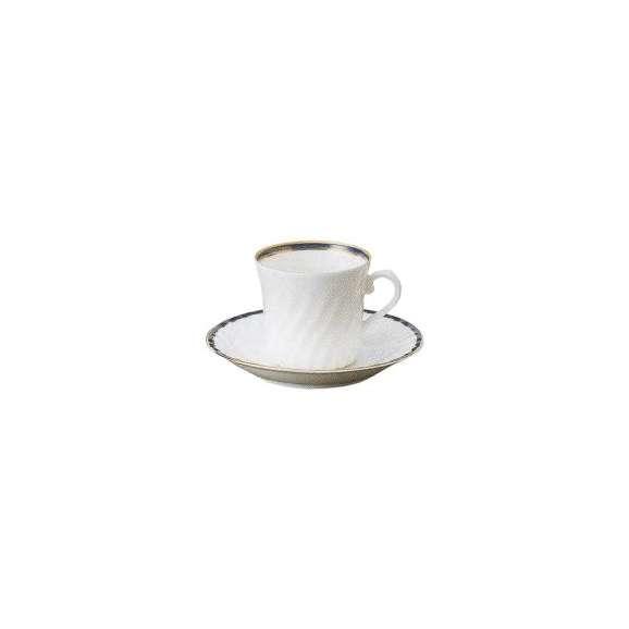 コーヒーカップソーサーブルーニューボン美濃焼業務用カフェ食器