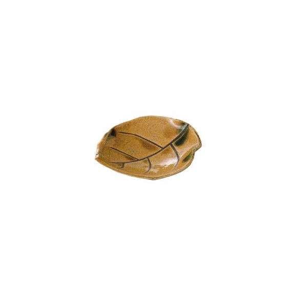 小鉢葉型小皿黄瀬戸和食器業務用