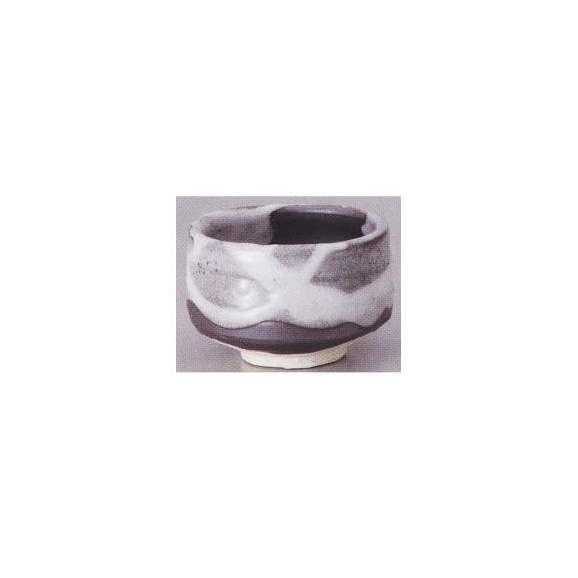 抹茶茶碗新雪箱入陶器美濃焼