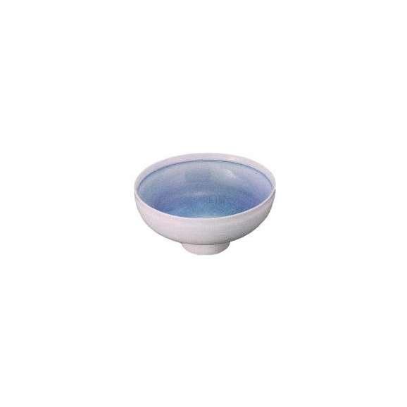 小鉢青結晶丸小鉢(有田焼)和食器