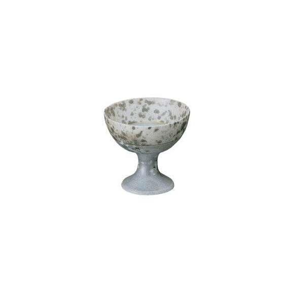 小鉢グレー銀彩木立中付(有田焼)和食器