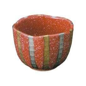 小鉢 金プラチナ 十草赤釉中付(有田焼)和食器