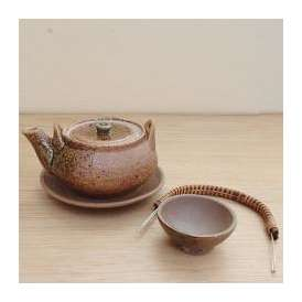 土瓶蒸し セット 伊賀釉 万古焼  和食器 業務用食器