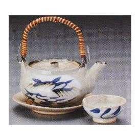 土瓶蒸し セット 芦絵 万古焼  和食器 業務用食器