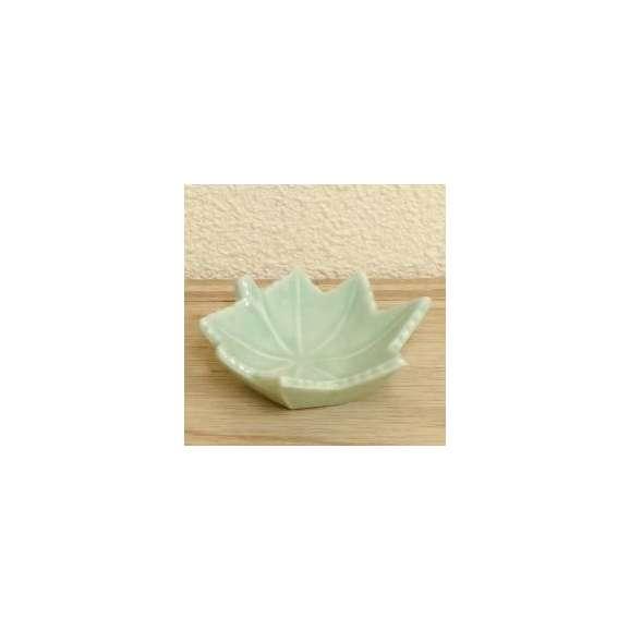 小鉢珍味青磁楓和食器美濃焼業務用