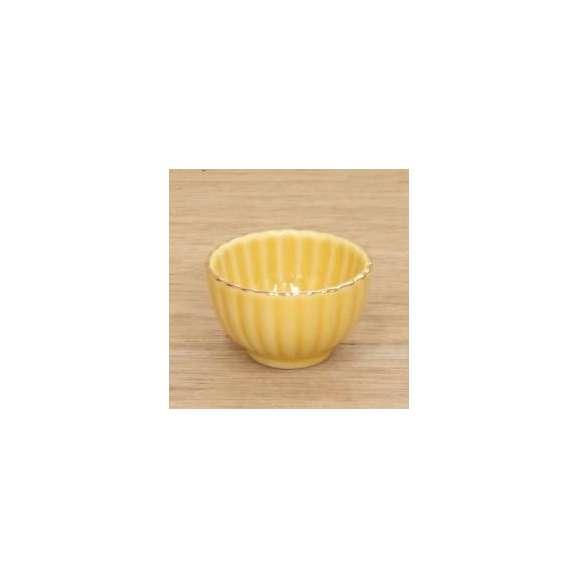 小鉢ミニ珍味黄菊型和食器業務用