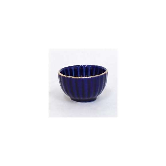 小鉢ミニ珍味ルリ菊型和食器業務用