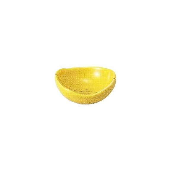 小鉢楕円珍味金線黄釉和食器美濃焼業務用