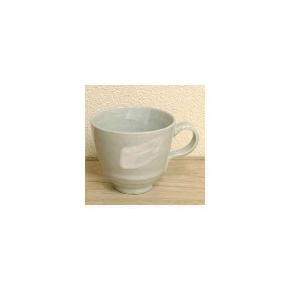 マグカップ古代釉(白)土物美濃焼
