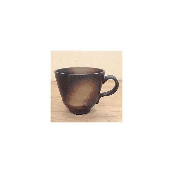 マグカップ古代釉(黒)土物美濃焼a625-26-70