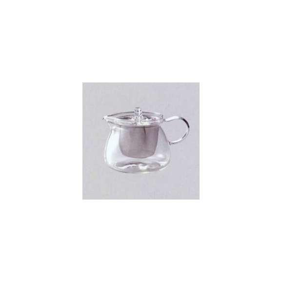 耐熱ガラスティーポット(ステンレス茶こし付)420ml業務用食器耐熱食器