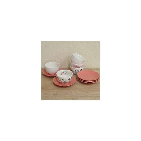 湯呑み5客セット茶托付淡墨桜和食器【箱入り】美濃焼