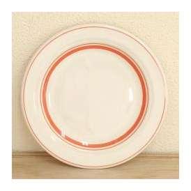 ケーキ皿 17.5cmプレート ソーバーオレンジ カントリーサイド 洋食器 業務用 美濃焼