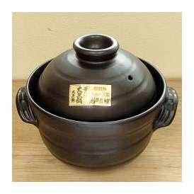 大黒 炊飯土鍋 4合炊き(二重蓋) ばんこ焼
