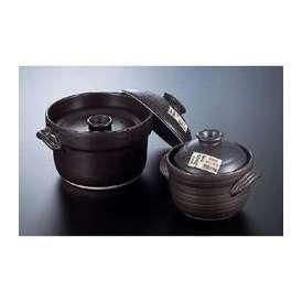 大黒 炊飯土鍋 6合炊き(二重蓋) ばんこ焼