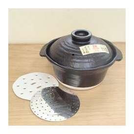 炊飯土鍋 3合(二重蓋) IH・直火両用タイプ