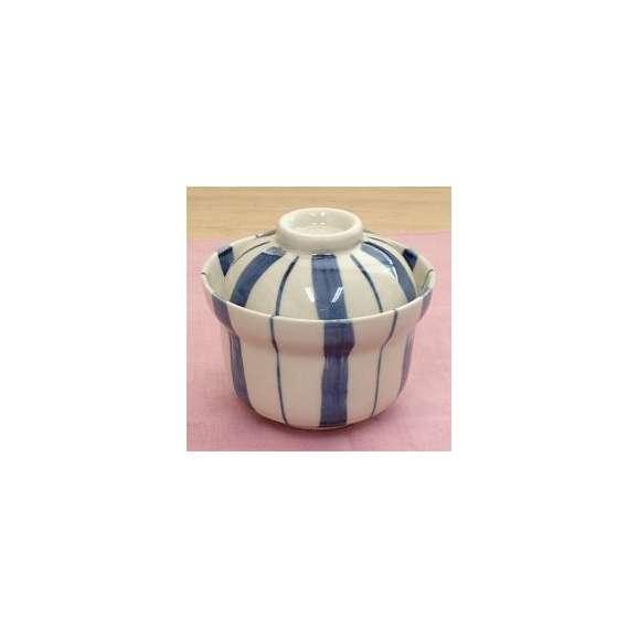蒸し碗煮物碗藍十草蓋物美濃焼和食器業務用
