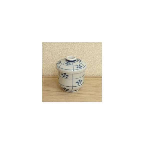 茶碗蒸しの食器梨地市松梅強化磁器和食器業務用