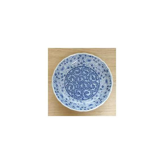 大皿31cm桔梗尺皿濃唐草和皿