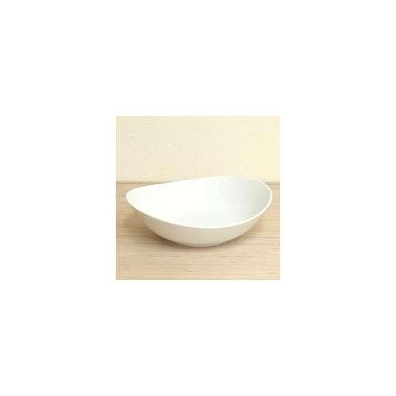 カレー皿白Sサイズオーバルエッグボール洋食器