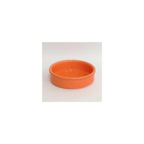 アヒージョカスエラ皿直火対応13.5cmオレンジ