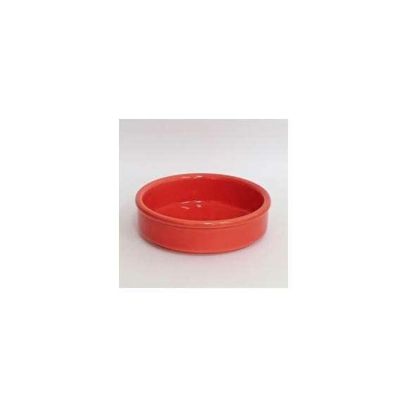 アヒージョカスエラ皿直火対応10.5cm赤