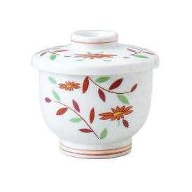 茶碗蒸しの食器 錦草花 小蒸し碗 和食器 業務用