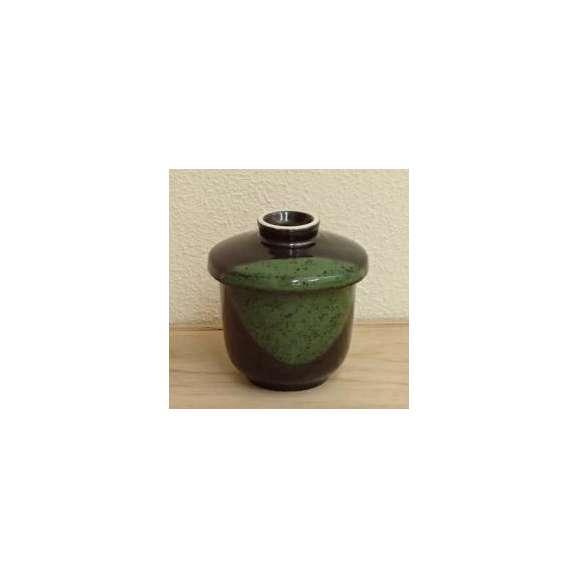 茶碗蒸しの食器天目グリーン業務用和食器