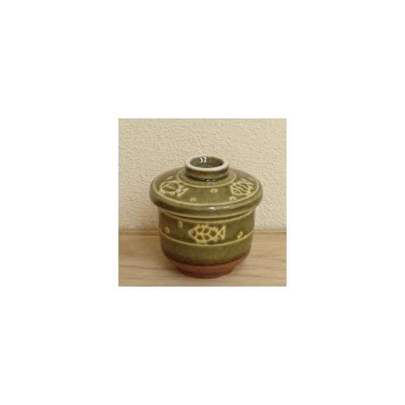 茶碗蒸しの食器織部ハスイ魚業務用和食器