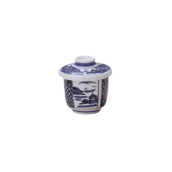 茶碗蒸しの食器間取山水業務用和食器