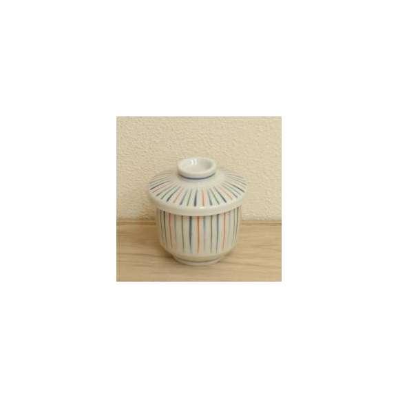 茶碗蒸しの食器三色トクサ業務用和食器