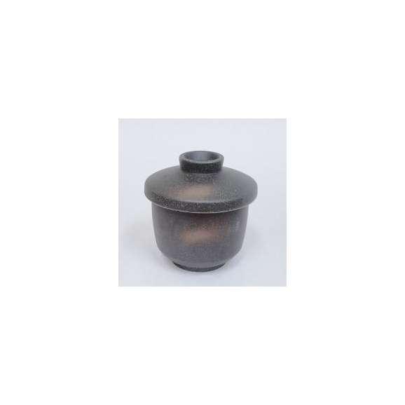 茶碗蒸しの食器黒伊賀業務用和食器
