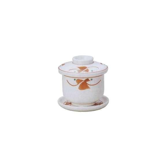 茶碗蒸しの食器赤絵小花業務用和食器