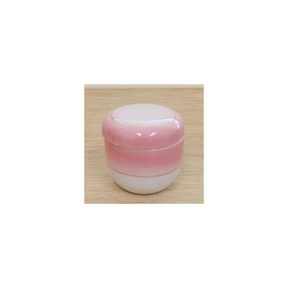 茶碗蒸しの食器ピンク吹渕金夏目型(小)業務用和食器
