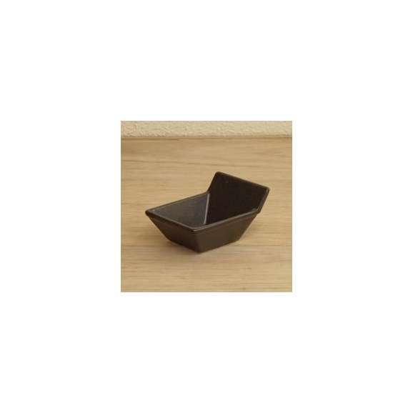 手付角珍味鉢ブラック小鉢黒Appetizerアピタイザー洋食器美濃焼業務用食器