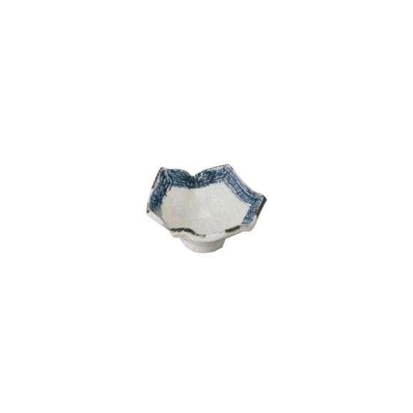 小鉢なぶり五角鉢紺帯業務用美濃焼