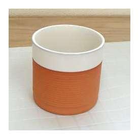 フリーカップ ポーラスロック ホワイト 業務用 美濃焼