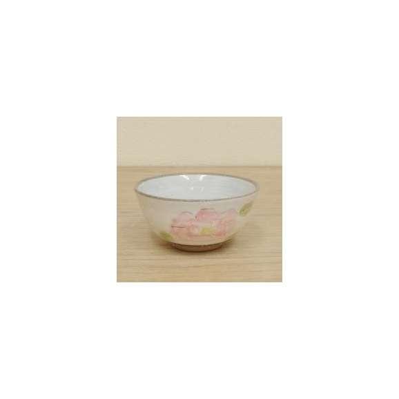 ご飯茶碗中平淡椿(ピンク)飯碗和食器業務用食器美濃焼