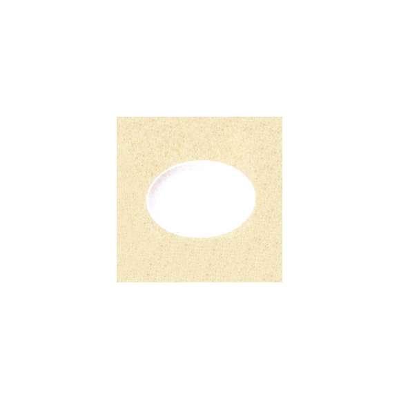 美濃焼白と赤の業務用食器プラター(白)24cmリーバイ