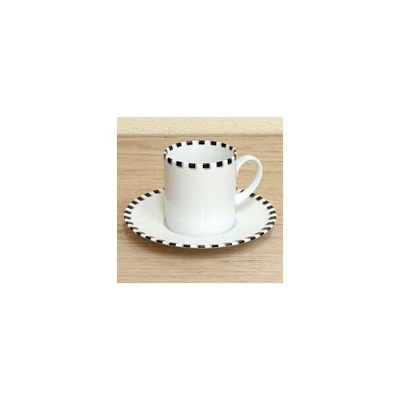 コーヒーカップソーサー白磁白い食器Dot(ドット)studio010