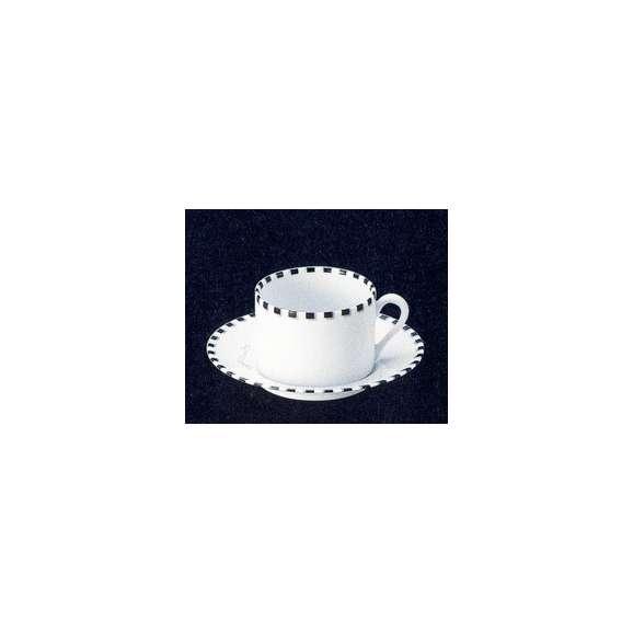 ティーカップソーサー白磁白い食器Dot(ドット)studio010