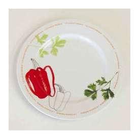 パスタ皿 Spagoパスタプレート(スパーゴ)28cm 赤ピーマン studio010