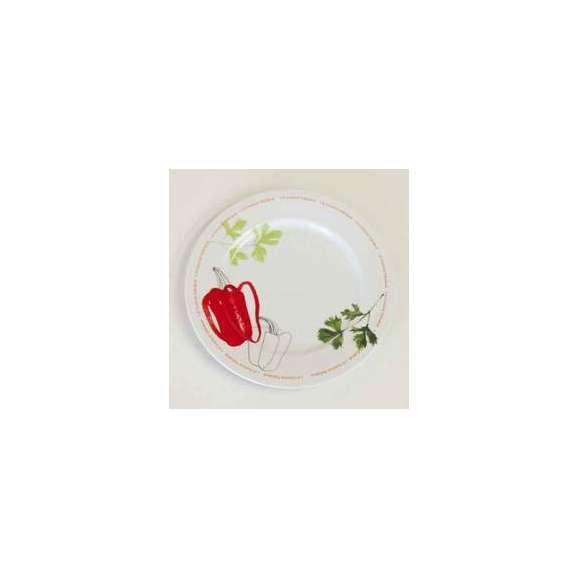 パスタ皿Spagoパスタプレート(スパーゴ)28cm赤ピーマンstudio010