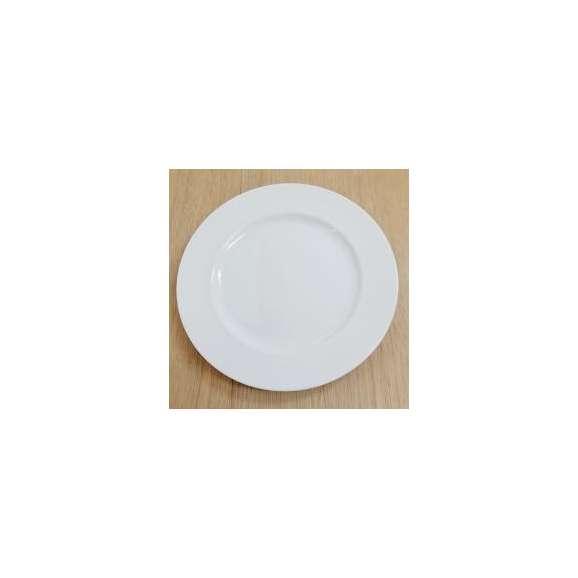 プレート25.5cmピュアホワイトピコレ洋食器業務洋食器美濃焼